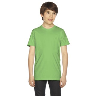 Fine Boys' Jersey Short-Sleeve Boys' Grass T-Shirt