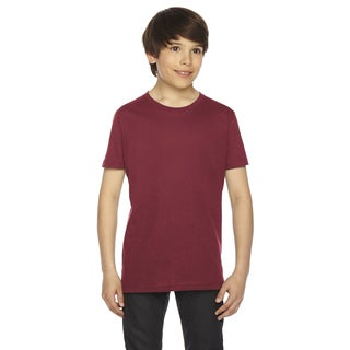Fine Boys' Jersey Short-Sleeve Boys' Cranberry T-Shirt