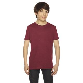 Fine Boys' Jersey Short-Sleeve Boys' Cranberry T-Shirt