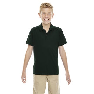 Eperformance Boys' Shield Snag Protection Forest Green 630 Short-Sleeve Polo