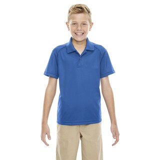 Eperformance Boys' Shield Snag Protection Short-Sleeve True Royal 438 Polo