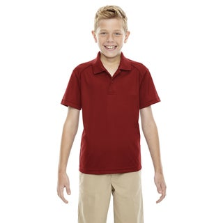 Eperformance Boys' Shield Snag Protection Short-Sleeve Classic Red 850 Polo