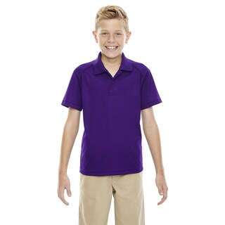 Eperformance Boys' Shield Snag Protection Short-Sleeve Campus Prple 427 Polo