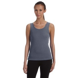 Stretch Rib Women's Deep Heather Tank