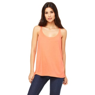 Slouchy Women's Coral Tank