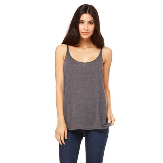 Slouchy Women's Dark Grey Heather Tank