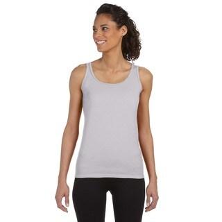 Softstyle Women's Sport Grey Junior Fit Tank