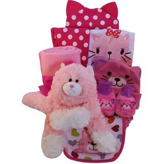 Pretty Kitty Baby Girl Gift Basket