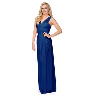 DFI Draped Formal Dress