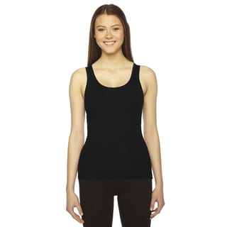 Rib Women's Black Boy Beater Tank