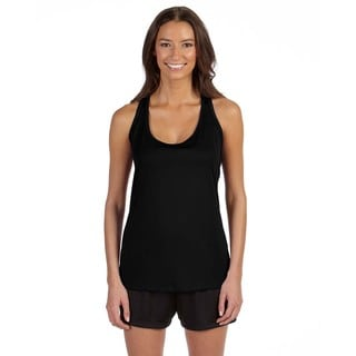 Performance Women's Racerback Black Tank