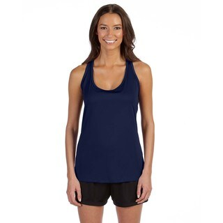 Performance Women's Sport Navy Racerback Tank