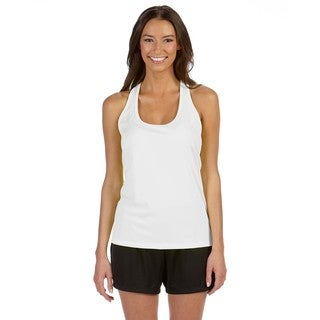 Performance Women's White Racerback Tank