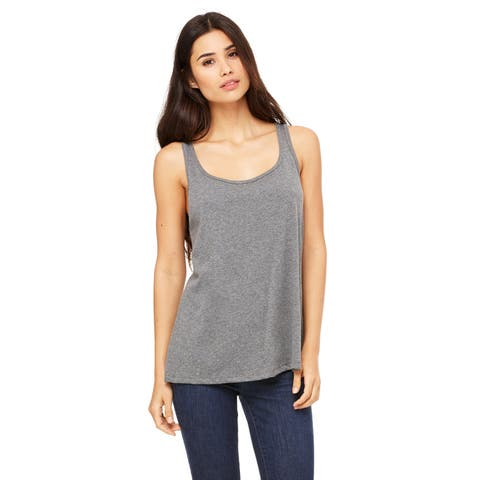Women's Relaxed Jersey Deep Heather Tank