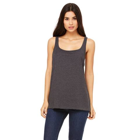 Women's Relaxed Jersey Dk Grey Heather Tank
