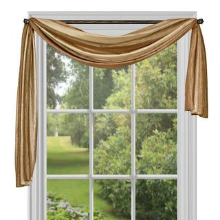 Ombre Window Curtain Scarf