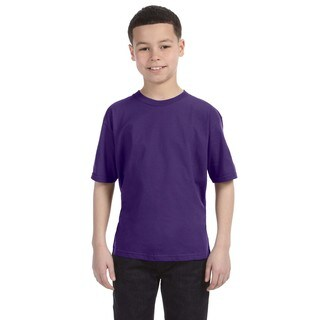 Lightweight Boys' Purple T-Shirt