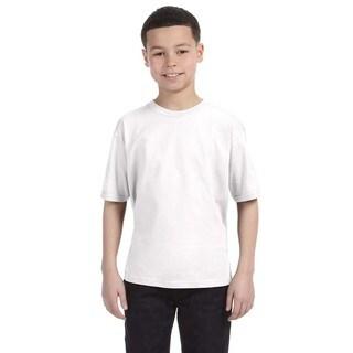 Lightweight Boys' White T-Shirt