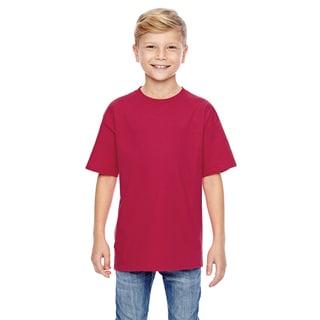 Nano-T Boys' Deep Red T-Shirt