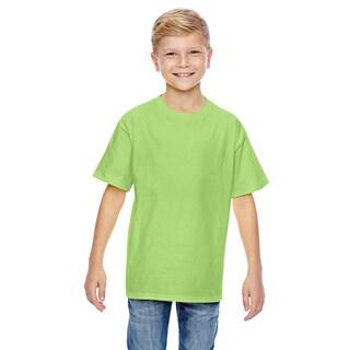 Nano-T Boys' Lime T-Shirt