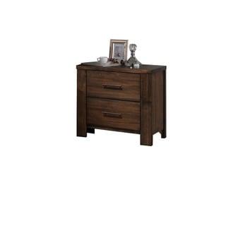 Merrilee Oak 2-Drawer Nightstand