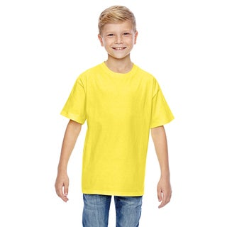 Nano-T Boys' Yellow T-shirt