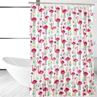 Fancy Flamingo Shower Curtain