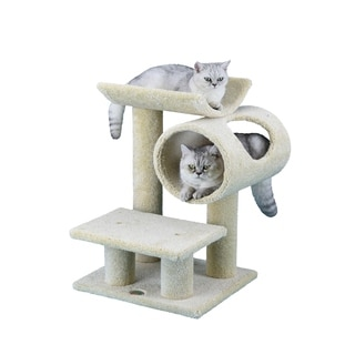 Go Pet Club 25-inch Tall Premium Cat Tree