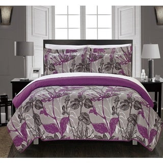 Chic Home Liha 7-Piece Bed in a Bag Quilt Set
