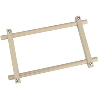 "Deluxe Hardwood Scroll Frame 6""X12"""