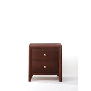 Brown Cherry Ilana Nightstand