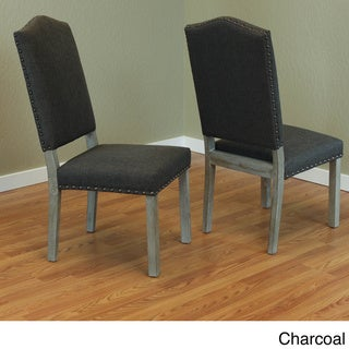 Maceda Linen Dining Chairs (Set of 2)