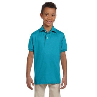 Spotshield Boys' California Blue Jersey Polo
