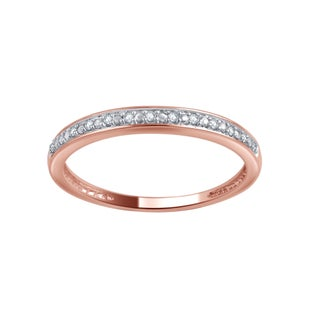 Divina 10k Gold Diamond Accent Wedding Band (More options available)