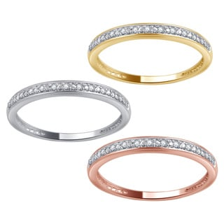 Divina 10k Gold Diamond Accent Wedding Band (I-J, I1-I2)