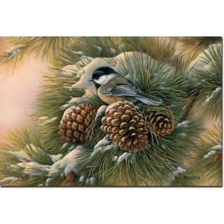 WGI Gallery 'December Dawn Chickadee' Wall Art