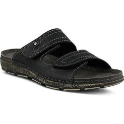 Men's Spring Step Cipriani Slide Black Manmade