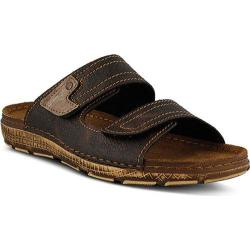 Men's Spring Step Cipriani Slide Brown Manmade