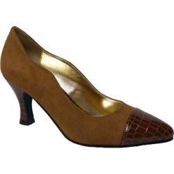 Women's Bellini Zaza Pump Rust/Croc Microsuede