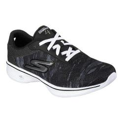 Women's Skechers GOwalk 4 Motion Walking Shoe Black/White
