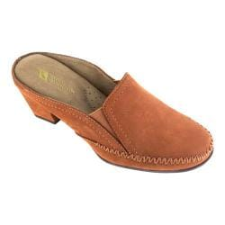 Women's White Mountain Dahling Mule Cognac Leather