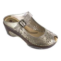 Women's White Mountain Miso Mule Gold/Metallic Leather