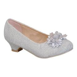 Girls' Da Viccino Aury-K Ornamented Pump Silver