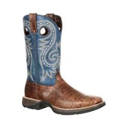 Men's Durango Boot DDB0096 12in Rebel Boot Brown/Navy Leather