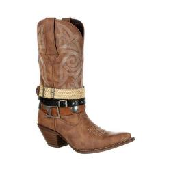 Women's Durango Boot DRD0122 12in Durango Crush Boot Tan Faux Leather
