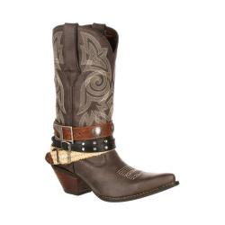 Women's Durango Boot DRD0123 12in Durango Crush Boot Dark Brown Faux Leather