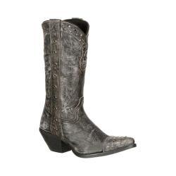 Women's Durango Boot DRD0127 12in Durango Crush Boot Black Full Grain Leather