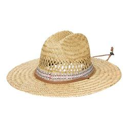 Men's San Diego Hat Company Lifeguard w/ Jacquard Band RSM581 Natural