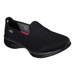 Women's Skechers GOwalk 4 Pursuit Slip On Walking Shoe Black