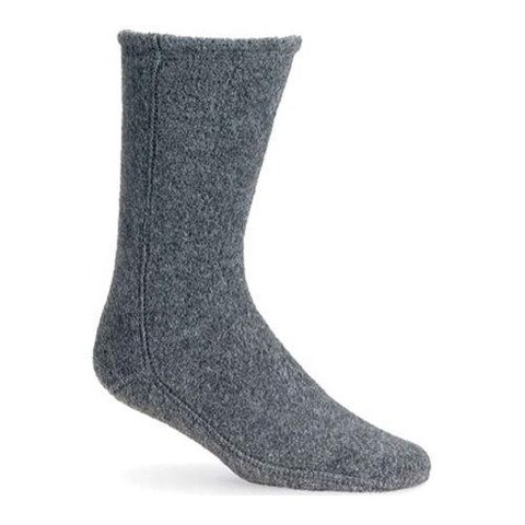Acorn Versa Fit Socks Charcoal Fleece